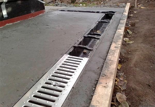 Проект открытой водосточной сети