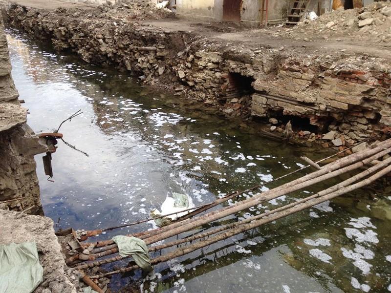 Проект переноса части русла ручья