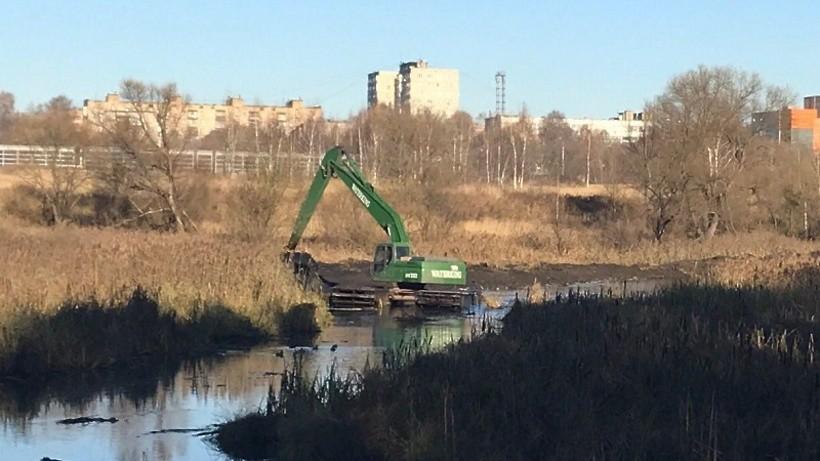 Экологическая реабилитация реки Банька